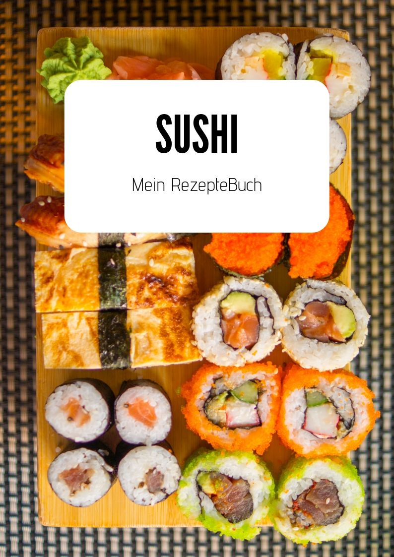 Rezeptebuch Sushi